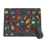 Pixel Inventory Mousepad