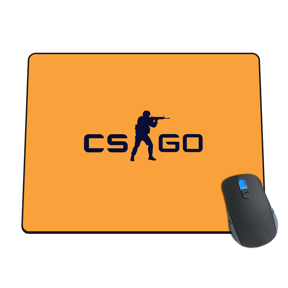 Valve store cs go logo mousepad yellow for Cs go mouse