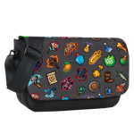 Pixel Inventory Toss Sublimated Messenger Bag