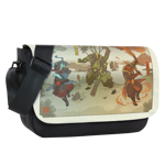 Three Spirit Sublimated Messenger Flap