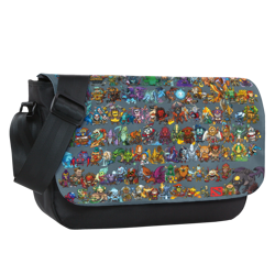 2017 Mini Heroes Sublimated Messenger Flap