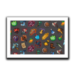 Pixel Inventory Art Print