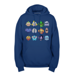 Hero Icons Pullover Hoodie
