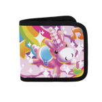 The Ever Flamboyant Balloonicorn Canvas Wallet
