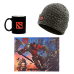 DOTA 2 Comic Book Reader Gift Set